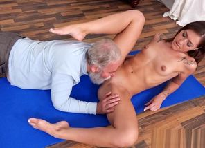 Humungous Elderly  Penetrate Lady..
