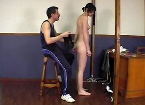 CMNF - Spanking! Young lady..