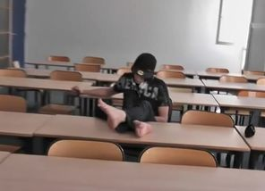 Ronny Alone In Classroom