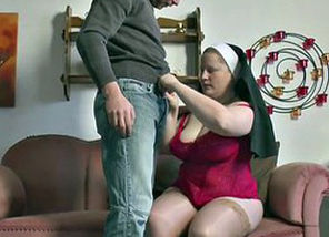 German Nubile  tempt Grandmother Nun..
