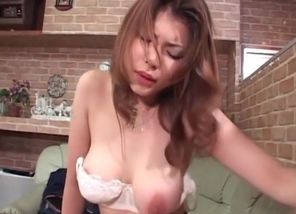 Excited huge-chested jap hump princess..