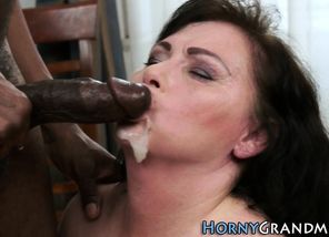 Mature   big black cock