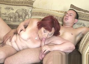 Grannys elder vagina munched and romped