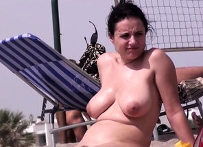 Torrid Amateurs Naked Beach Spycam..