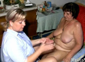 Gilf Gets A Therapeutic Rubdown From..