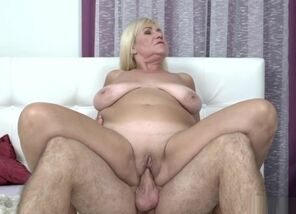 Big-boobed Grandmother Liking Xxx..