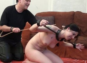 Trussed gimp Honesty Cabellero lashed..