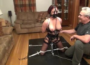 The Restrain bondage Ejaculation Compete