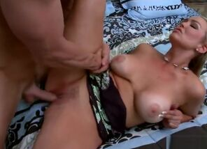 Winsome fair-haired  Abbey Brooks is..